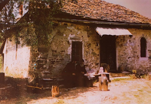 Saint Paisios's home at Panagouda, Mount Athos