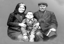 Saint Paisios as a child with his parents